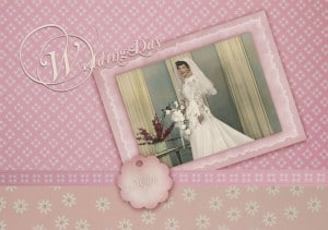 exemple scrapbooking mariage